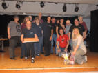 meine Gruppe mit Gaststars und Geschenken / my group with the star-choreographers and the birthday gifts