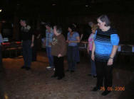Donnerstag, die LAD's bei den Black Boots zum Training / thursday, the LAD's at the Black Boots line dance training